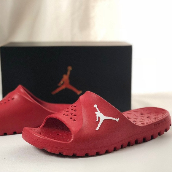 7527ad9a3 Jordan Shoes | Nike Air Superfly Team Slide Gym Redwhite | Poshmark